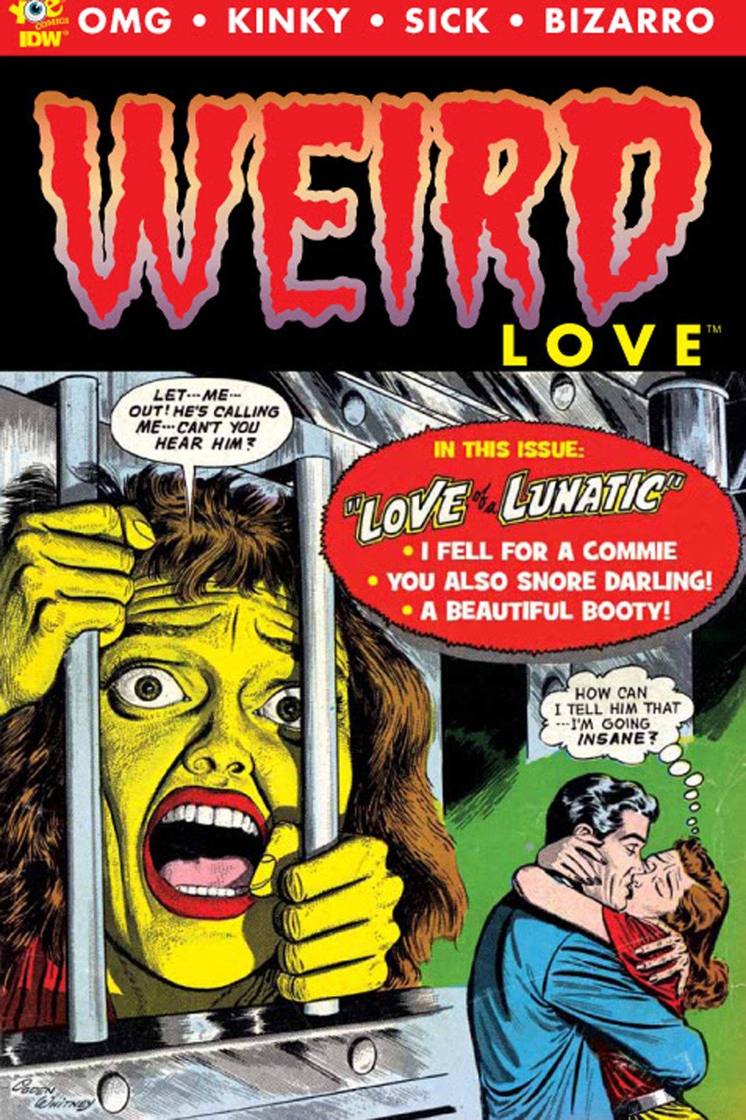 Weird Love: storie d'amore perverse targate IDW