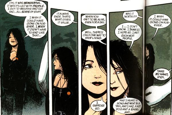 La prima volta che ho letto Sandman… ho letto Death