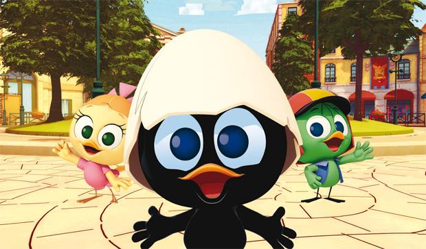 Calimero: La nuova serie animata da oggi su RaiDue