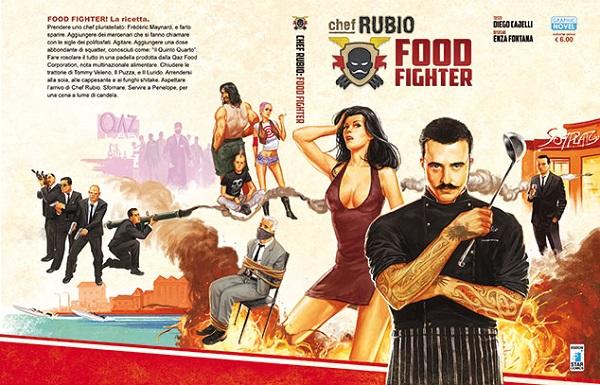 """Edizioni Star Comics presenta: """"Aspettando Chef Rubio..."""". Intervista con Giuseppe Di Bernardo"""
