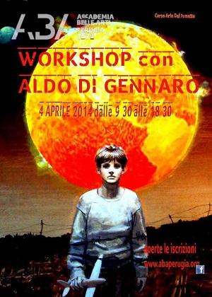 Un Workshop con il maestro dell'illustrazione Aldo Di Gennaro
