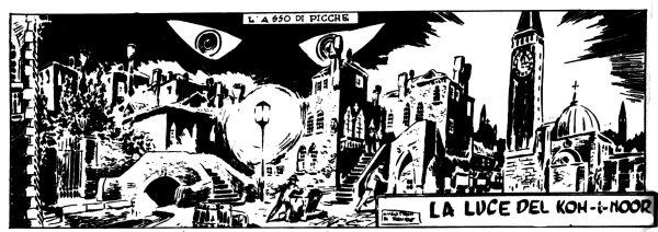 Gli esordi di Alberto Ongaro e Hugo Pratt: le stranezze dell'Asso di Picche!