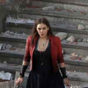 Scarlet e Quicksilver sul set di Avengers: Age of Ultron