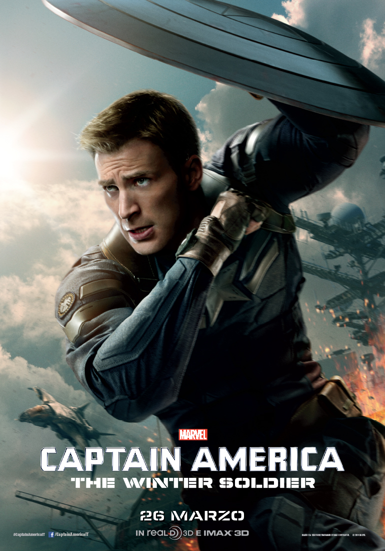 Due nuovi character banner per Captain America: The Winter Soldier