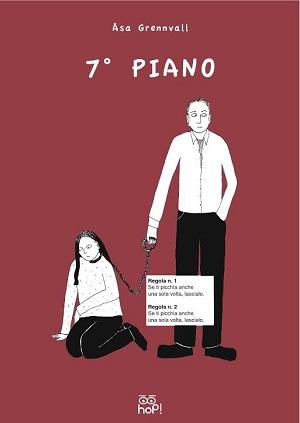 """La festa della donna passa dal """"7° piano""""- il graphic novel contro la violenza sulle donne di Åsa Grennvall"""