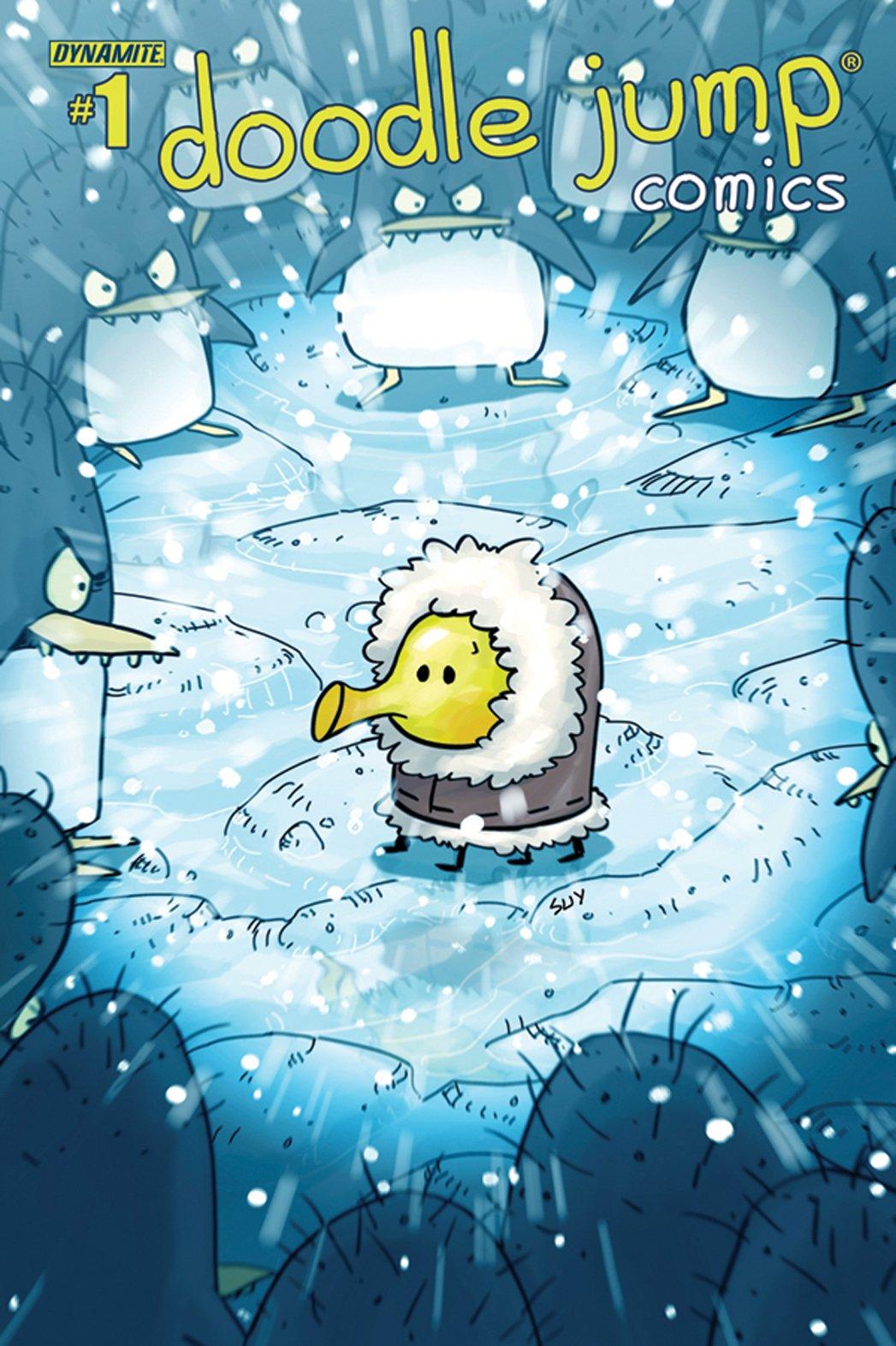 Dynamite lancia Doodle Jump Comics, fumetto basato sul mobile game