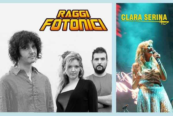 I Raggi Fotonici e Clara Serina in concerto ad Etna Comics 2014