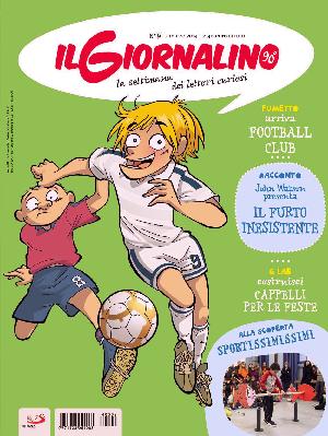 """Da questa settimana, su il Giornalino, """"FOOTBALL CLUB"""" di Beppe Ramello e Giuseppe Ferrario"""