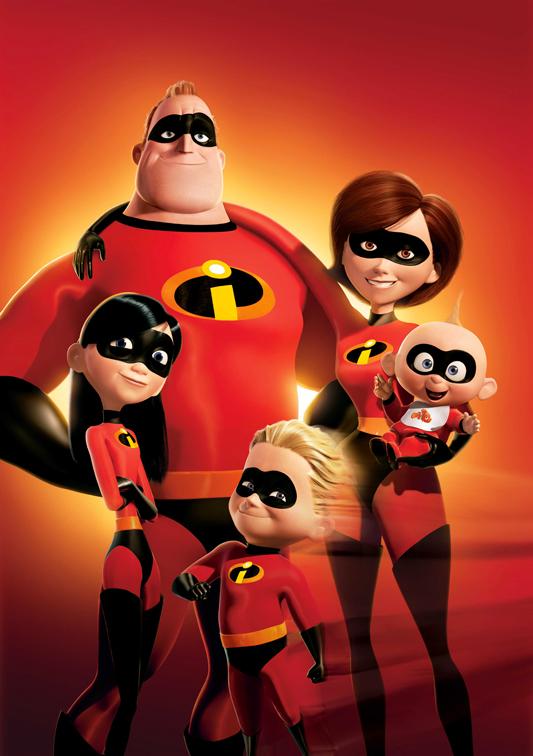 Pixar annuncia sequel de Gli Incredibili