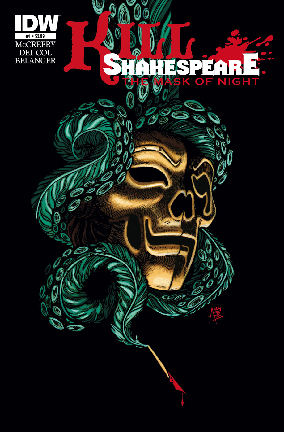 IDW lancia Kill Shakespeare: The Mask of Night_Notizie