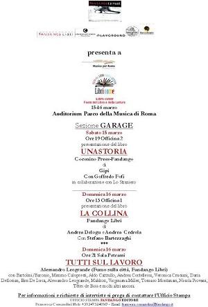 """Fandango Editore presenta i suoi autori a """"Libri Come - Festival del Libro e della Lettura"""""""