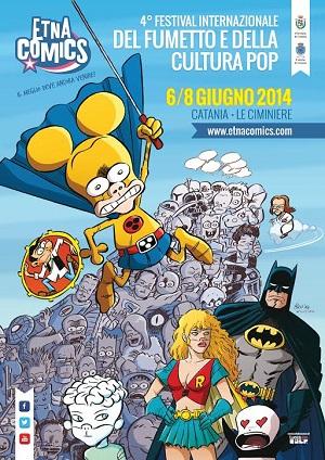 Ufficializzato il manifesto di Etna Comics 2014 disegnato da Leo Ortolani