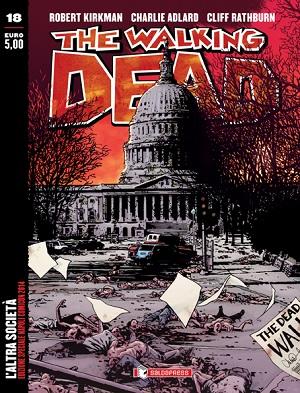 The Walking Dead 18: variant cover per il Napoli Comicon