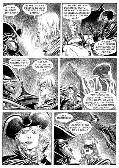 Tavola di Alessio Fortunato da Dampyr #143