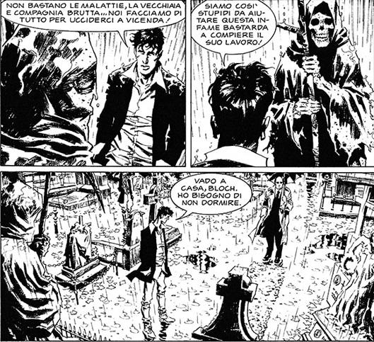 Dylan Dog #331 – La Morte non basta (Di Gregorio, R. Cestaro, G. Cestaro)