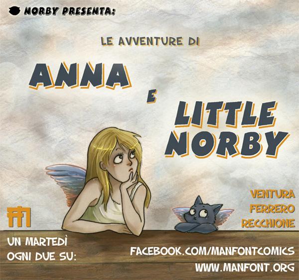 Le Avventure di Anna e Little Notby webcover