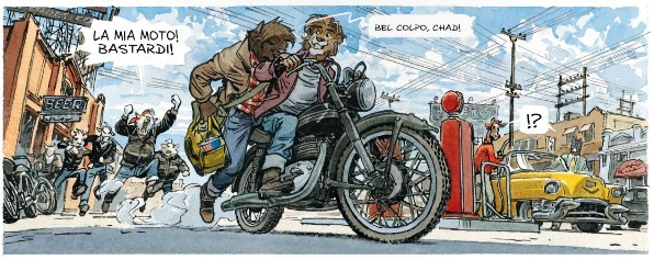 Blacksad #5 - Amarillo (Canales, Guarnido)