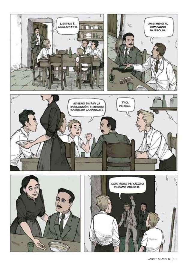 Dal romanzo al graphic novel: Canale Mussolini