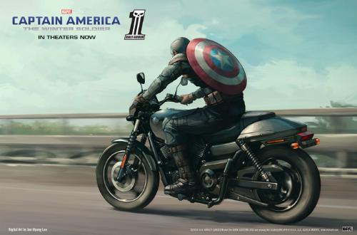Marvel e Harley Davidson lanciano contest per mini-franchise