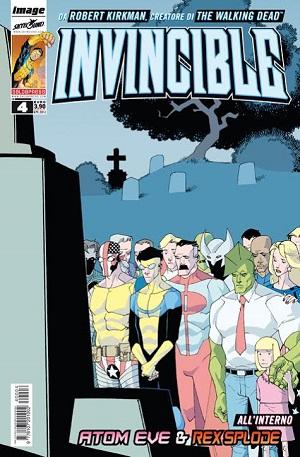Giovedì 24 aprile arriva in edicola il quarto numero di Invincible