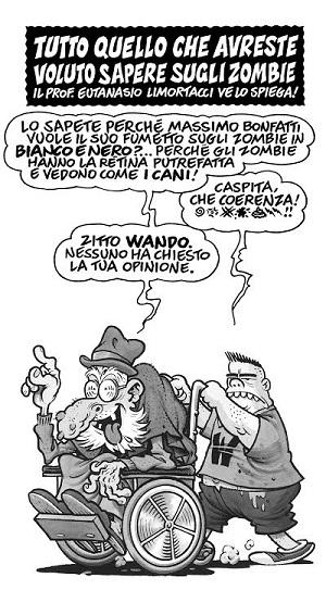 """""""Limortacci"""" di Massimo Bonfatti su The Walking Dead"""