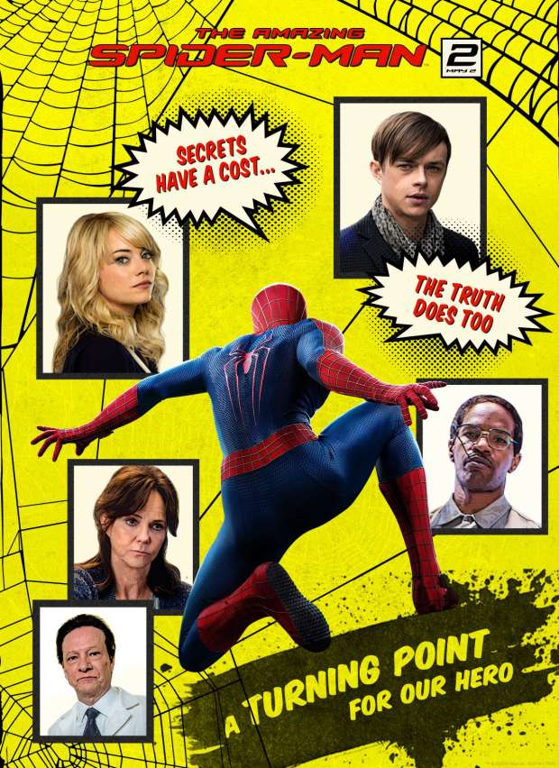 The Amazing Spider-Man 2: nuovo trailer internazionale e poster