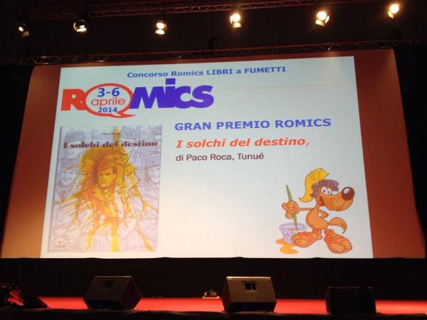 """Paco Roca vince il gran premio Romics 2014 con """"I solchi del destino"""""""