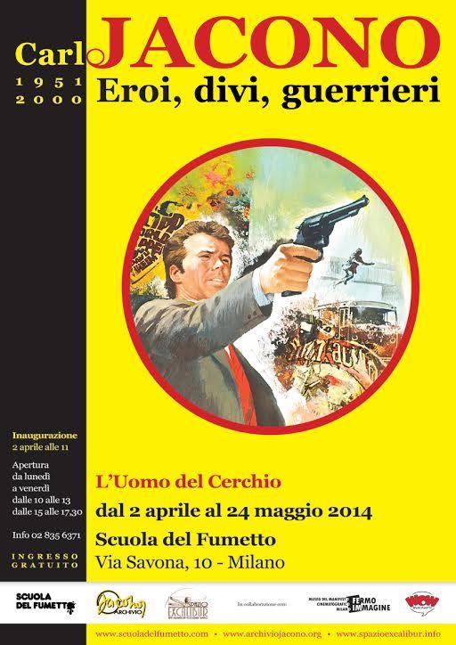 Alla Scuola del Fumetto di Milano mostra su Carlo Jacono