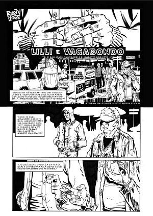 """Rusty Dogs 33: """"Lilli e Vagabondo"""" con i disegni di Elisabetta Barletta"""