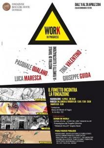 """""""Work in Progress – Il fumetto incontra la Fondazione"""": mostra di tavole e illustrazioni"""