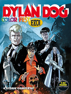 Dylan Dog Color Fest #12: crossover dell'incubo