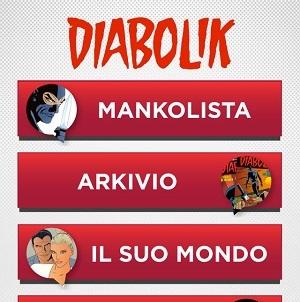 La mancolista di Diabolik gratis su iPhone