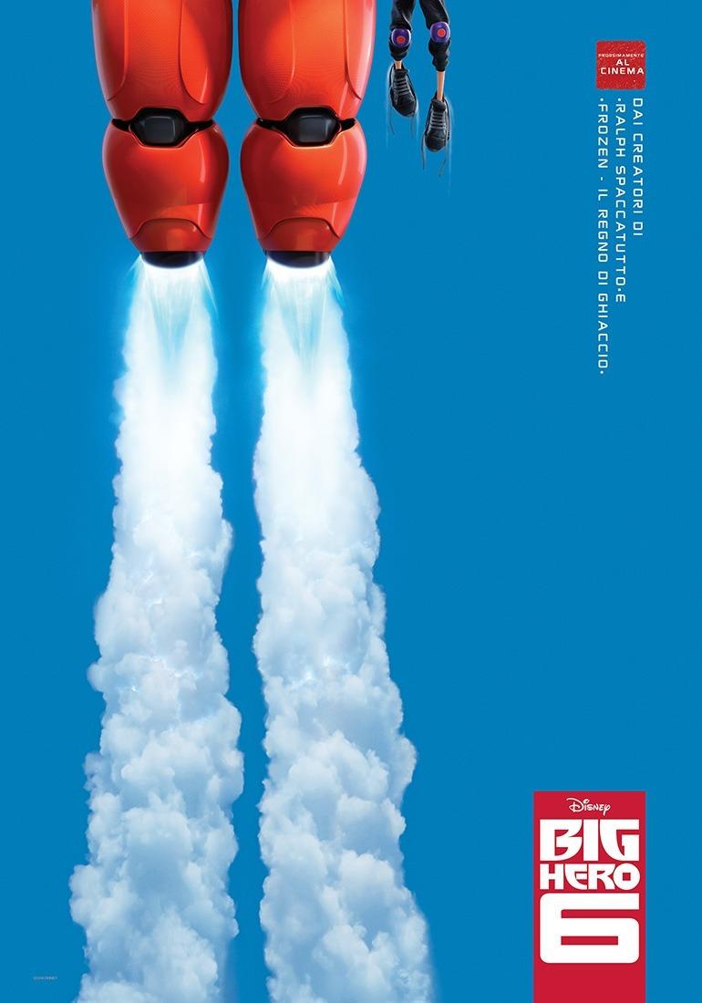 Big Hero 6 - il teaser poster italiano