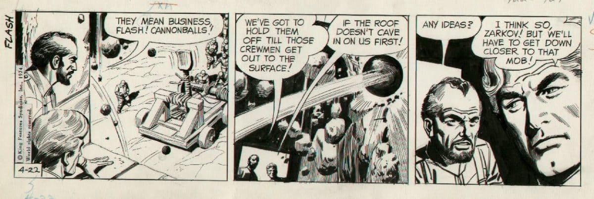Flash_Gordon_DanBarry_BobFujitani_22_4_1974_Essential 11 Essential 300 comics