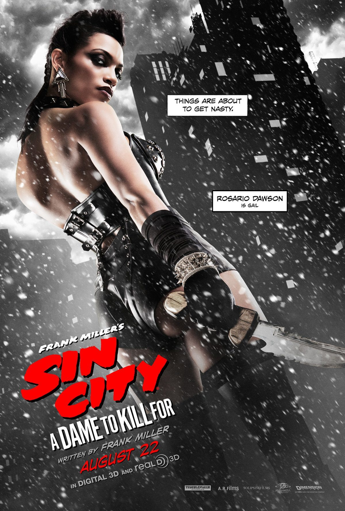 Cinque character poster per Sin City: A Dame to Kill For_Notizie