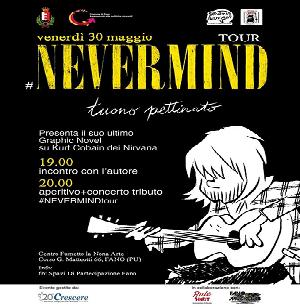 """Venerdì 30 """"Disegni Diversi"""" accoglie Tuono Pettinato e il #Nevermind Tour"""