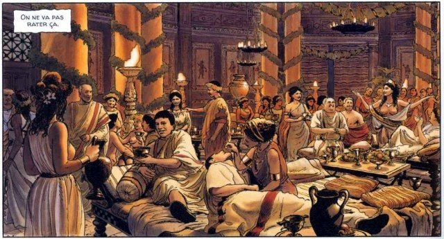 Alix Senator: un thriller noir nell'antica Roma