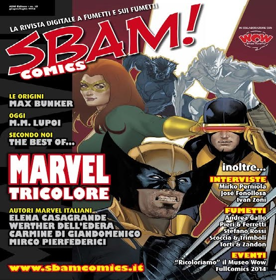 E' disponibile il nuovo numero di SBAM! Comics
