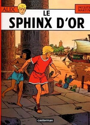 Copertina del 2° tomo della serie originale di Alix di Jacques Martin