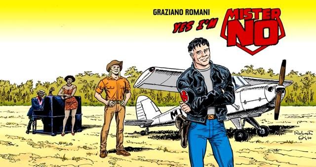Dopo Zagor e Tex, Graziano Romani mette in musica Mister No