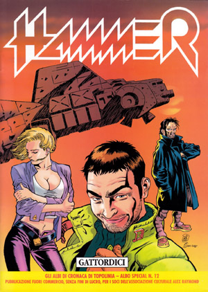 Hammer: fantascienza italiana a fumetti e cyberpunk negli anni '90