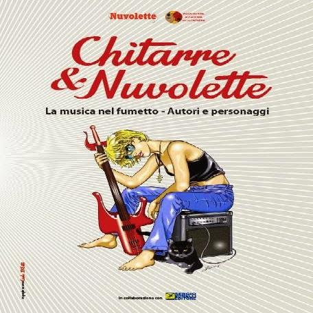 """Anteprima di una delle tavole della mostra """"Chitarre & Nuvolette"""""""