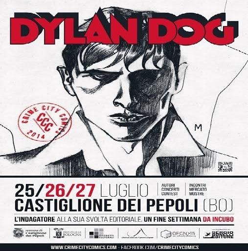 """""""Crime City Comics: Dylan Dog"""": una tre giorni monografica sulla creatura di Tiziano Sclavi"""
