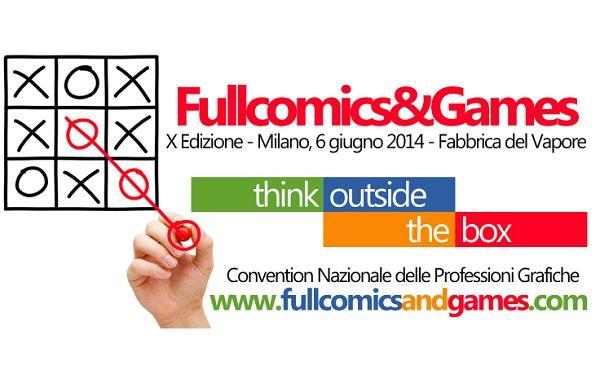 Al via la convention Fullcomics & Games sul tema delle idee