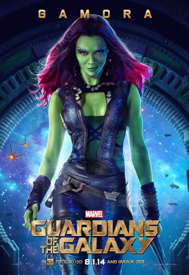 Guardiani della Galassia: il character poster di Gamora