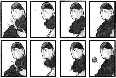 La gigantesca barba di Stephen Collins: una fiaba di cambiamento
