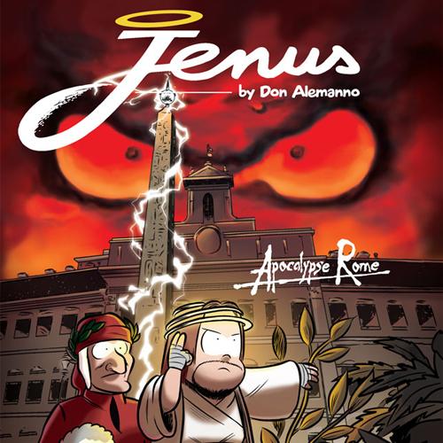 JENUS di Nazareth in edicola con Mondadori Comics