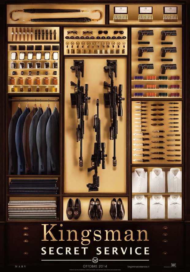 Kingsman: Secret Service – Trailer italiano e poster