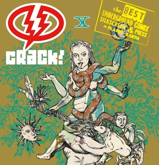 """Dal 19 giugno """"Crack! Festival Internazionale di Arte Disegnata e Stampata"""""""