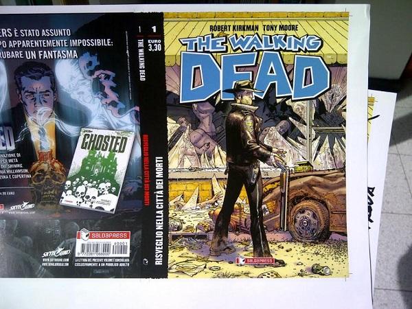 """Seconda ristampa per """"The Walking Dead"""" versione edicola"""